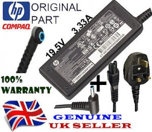 Genuine HP Elitebook 840 820 G3 Charger