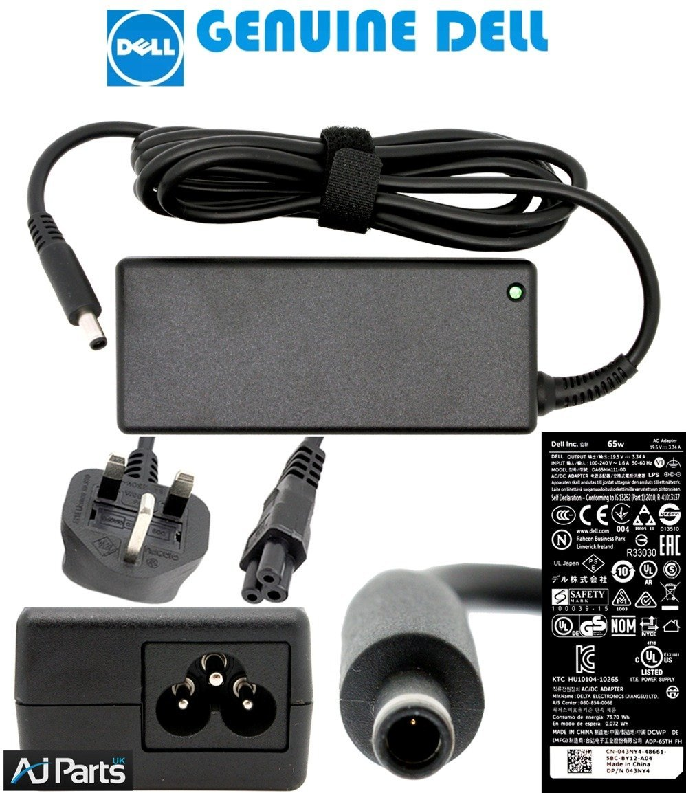 Genuine Dell Inspiron 15 7000 Laptop Charger 65w