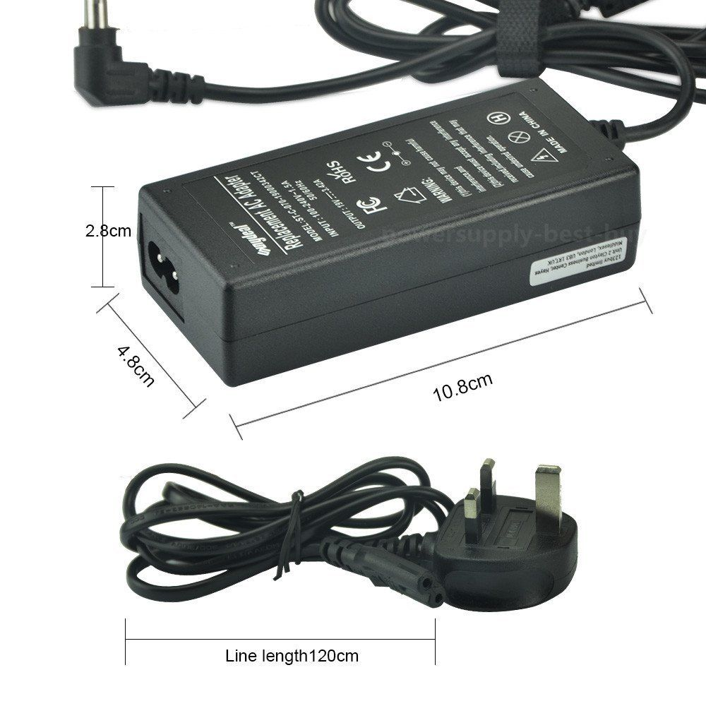 Toshiba Satellite C855D Charger